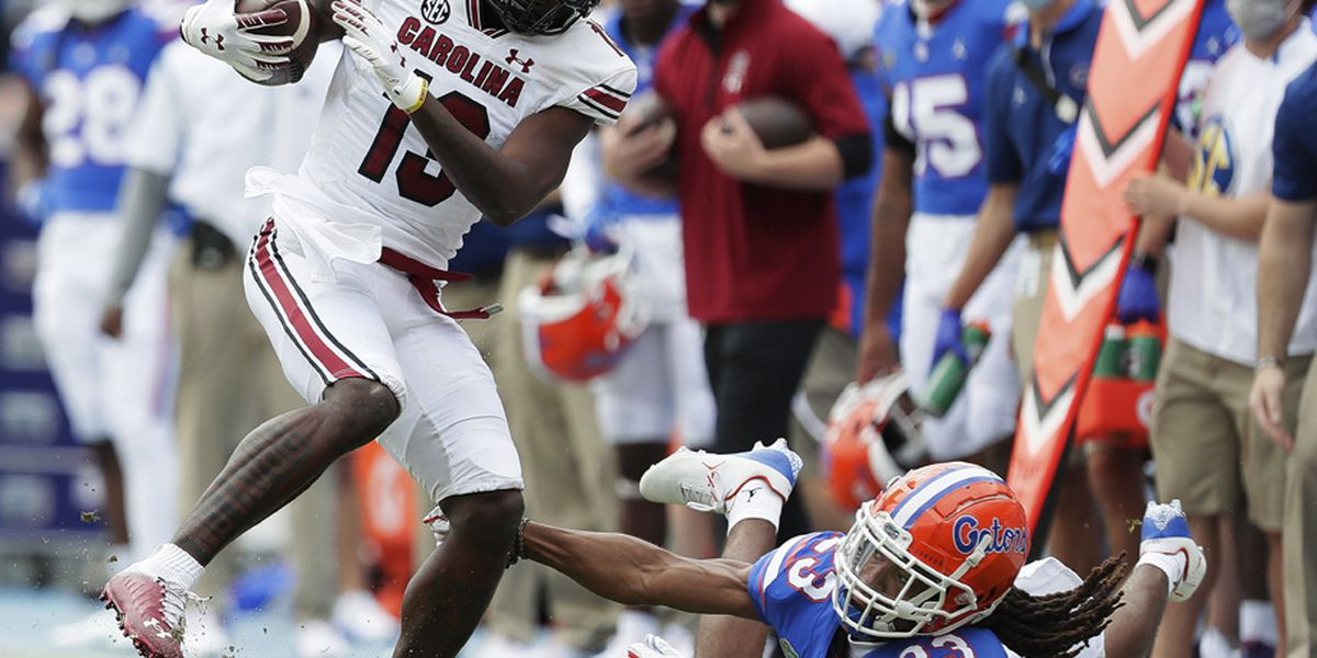 Trask, Pitts help No. 3 Florida top South Carolina 38-24