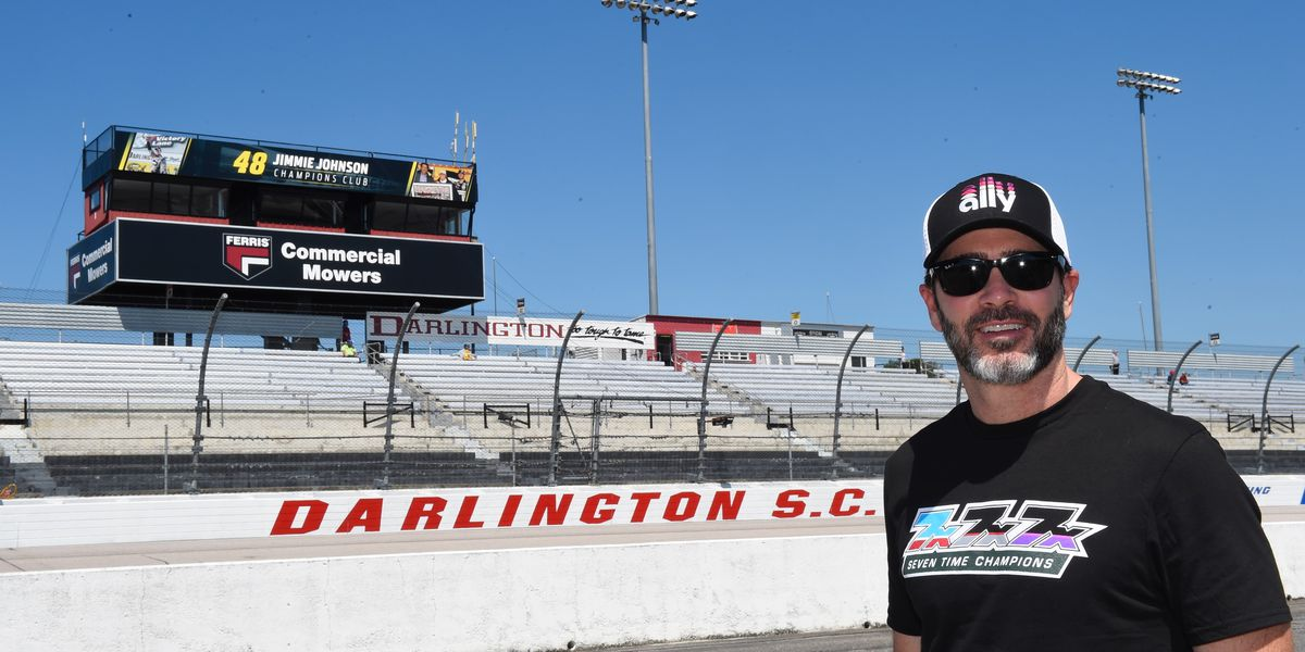 Darlington Raceway Names Backstretch Suites the Jimmie Johnson Champions Club