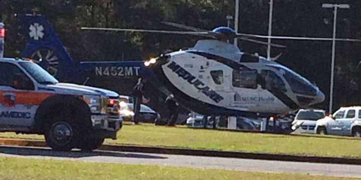Driver injured following car accident near Beech Hill Elementary School