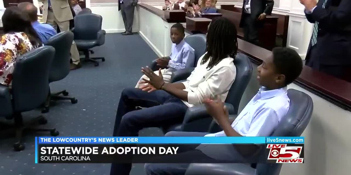 Dozens of final adoption hearings take place in SC on Monday