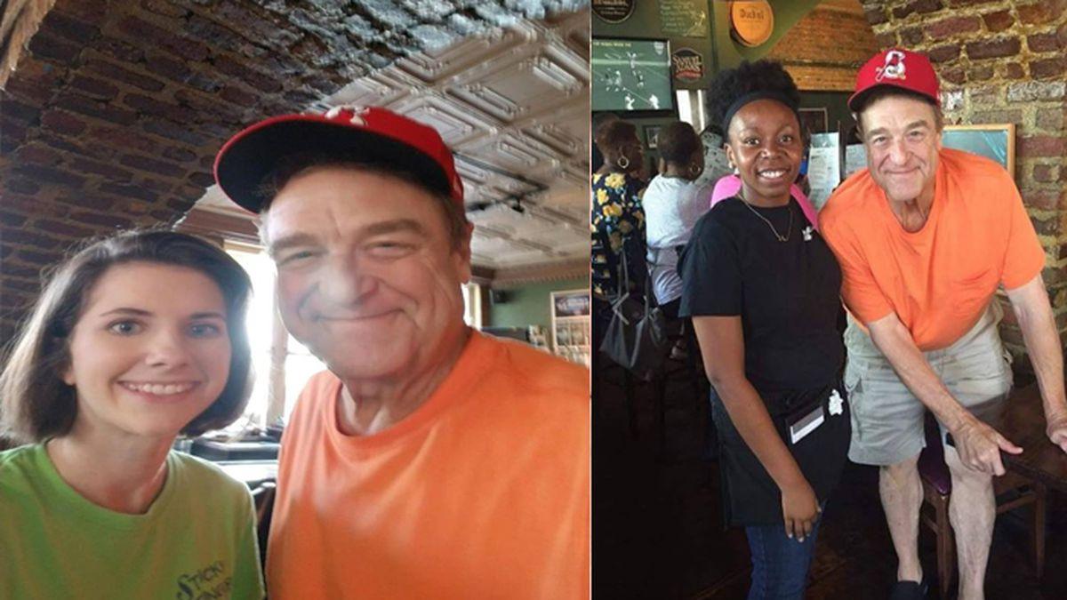 Actor John Goodman spotted at downtown Charleston restaurant