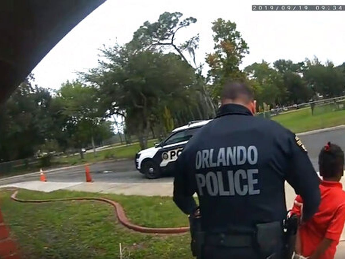 'I don't want to go in the police car': Body cam captures 6-year-old's tearful pleas during arrest
