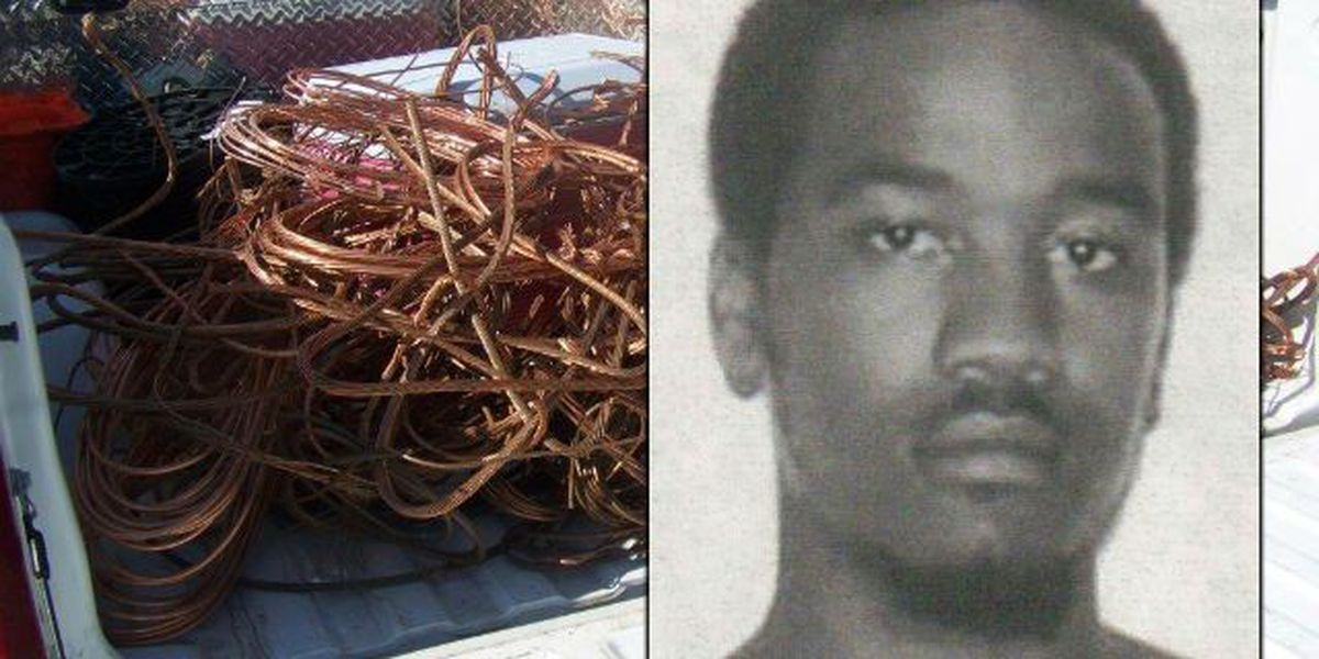 Man accused of selling stolen copper surrenders to police