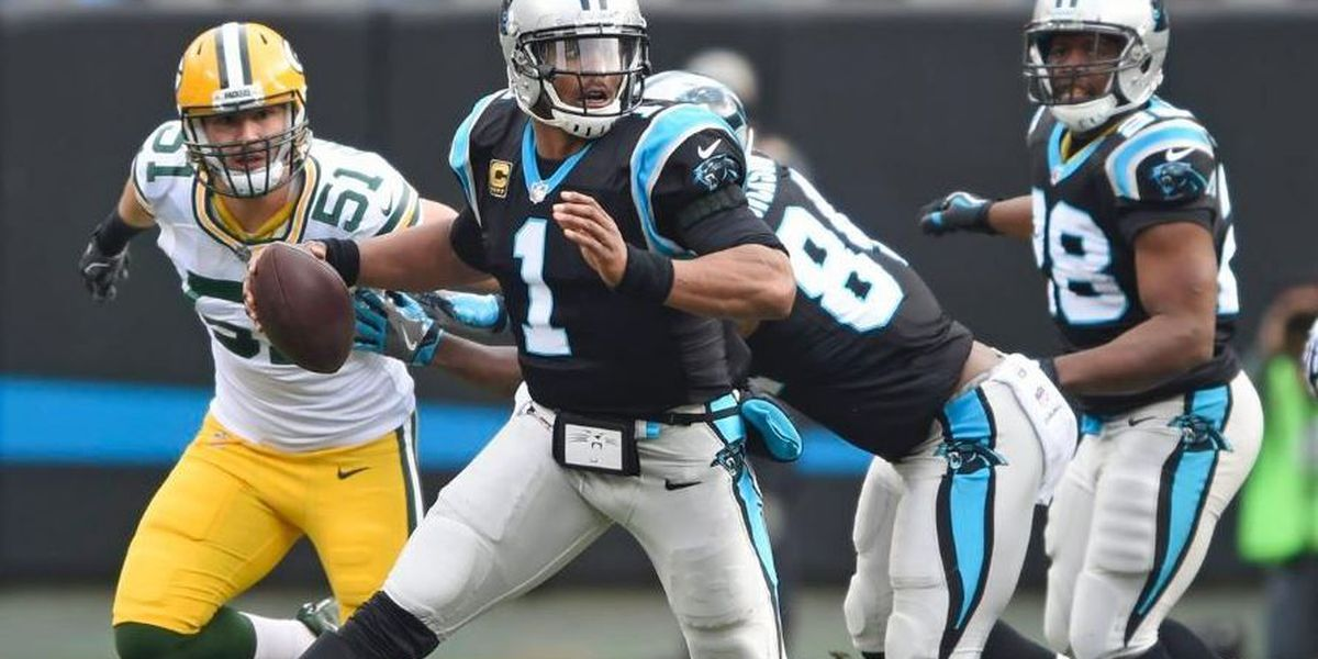 Panthers get past Packers in Rodgers return