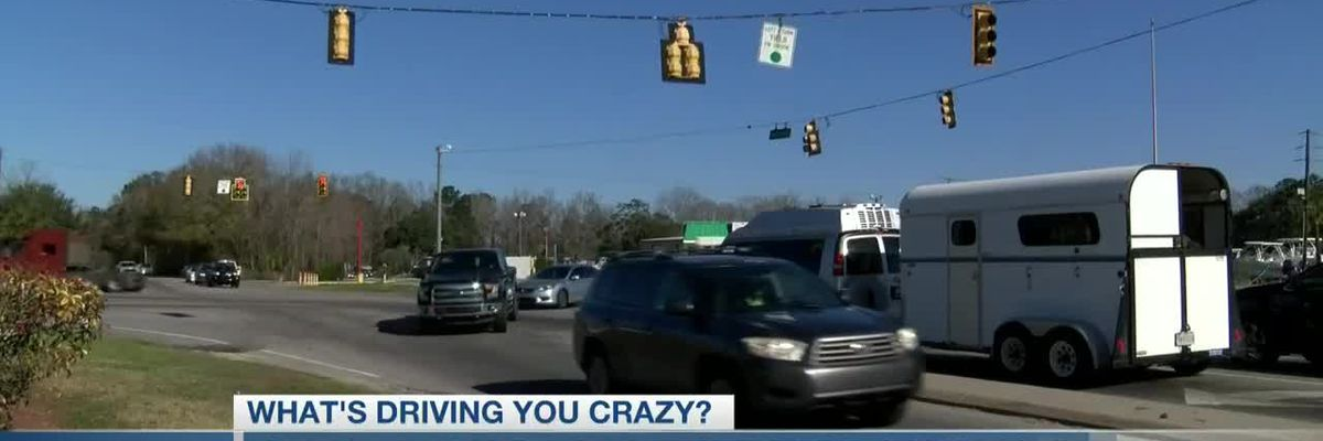 VIDEO: What's Driving You Crazy: 'Known problem' at intersection of Savannah Hwy. and Main Rd.