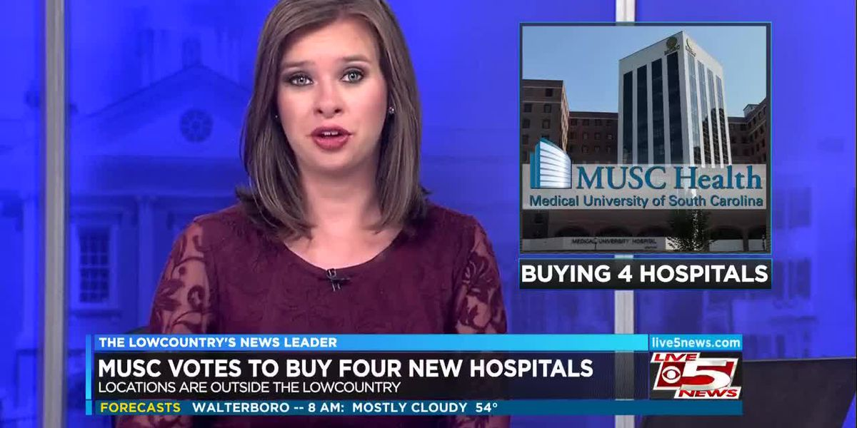 VIDEO: MUSC to buy 4 hospitals across SC
