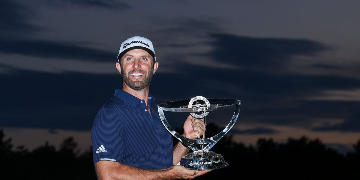 Dustin Johnson wins by 11 shots and is back to No. 1