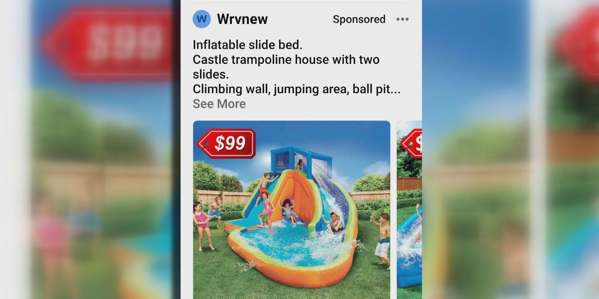 Live 5 Scambusters: Water slide scams sliding into Facebook Marketplace