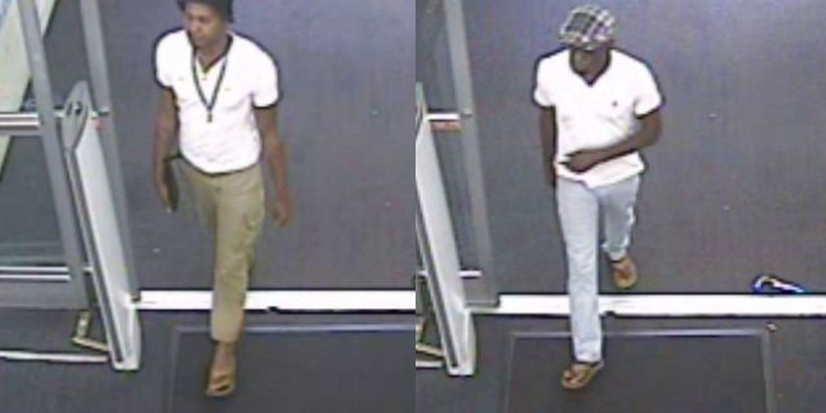 CCSO searching for men in forgery, counterfeit check incident