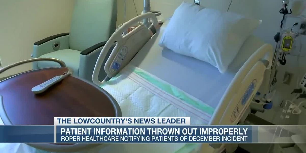 VIDEO: Documents relating to 1,600 Roper Healthcare patients improperly thrown out, officials say