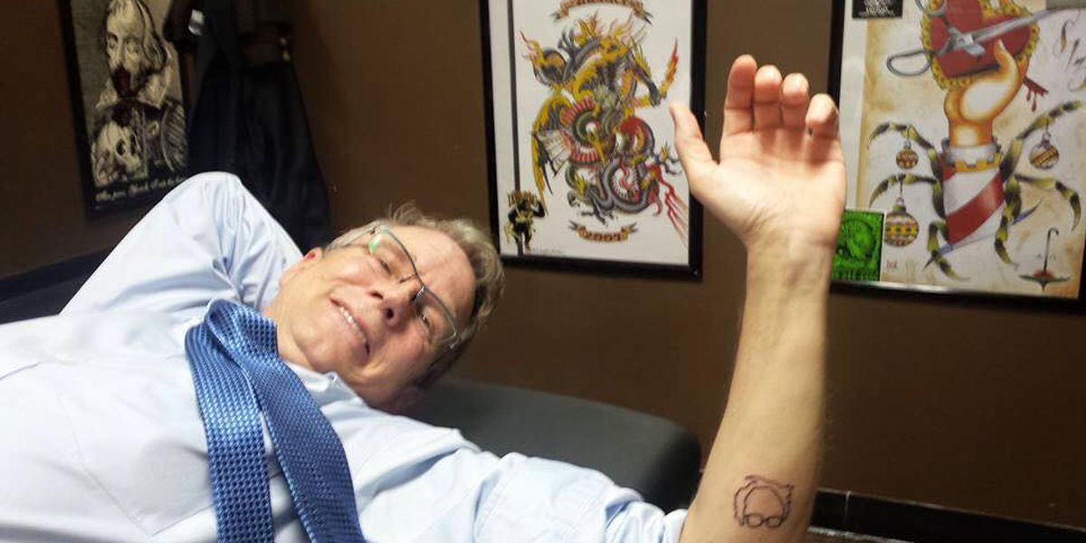 Candidate supporters get inked at Charleston tattoo shop