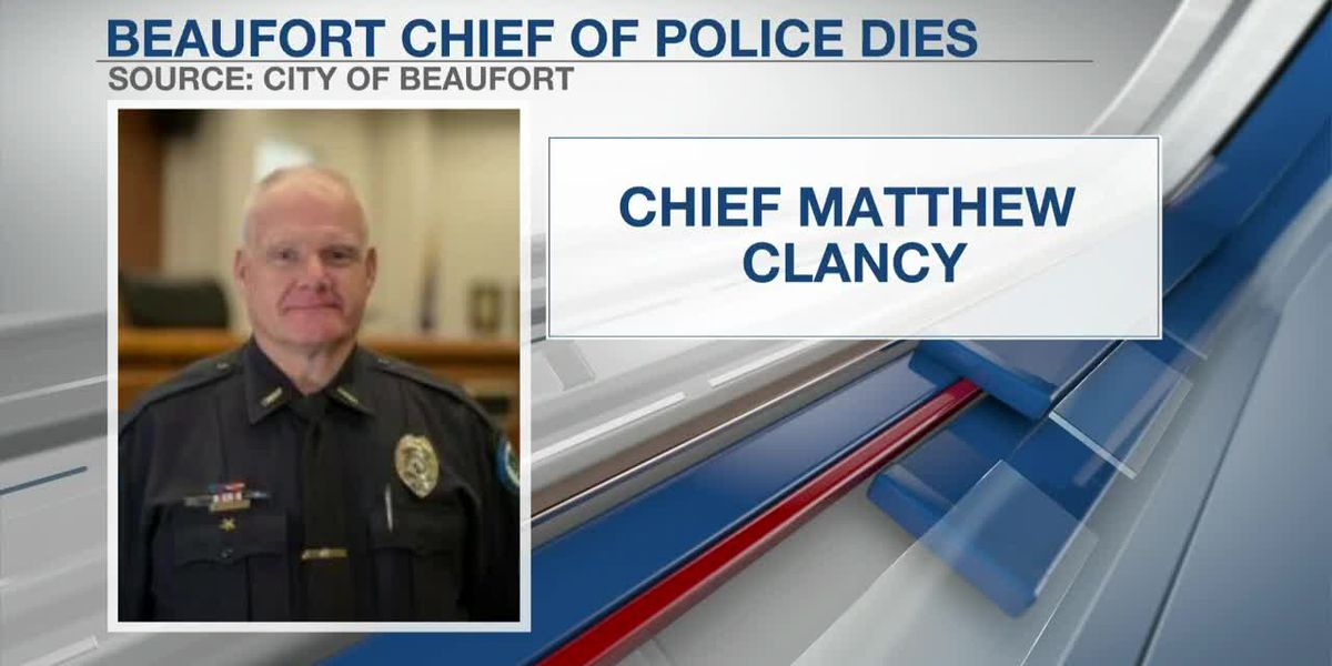 VIDEO: Beaufort Police chief passes away