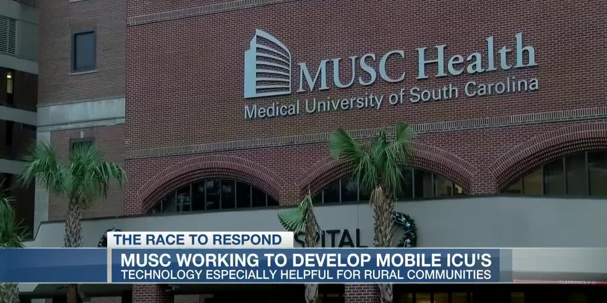 VIDEO: MUSC doctors working on new technology for possible ICU surge
