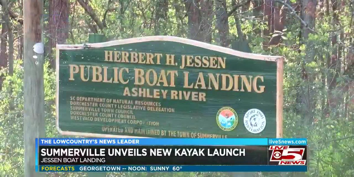 VIDEO: New kayak launch opening Friday in Summerville