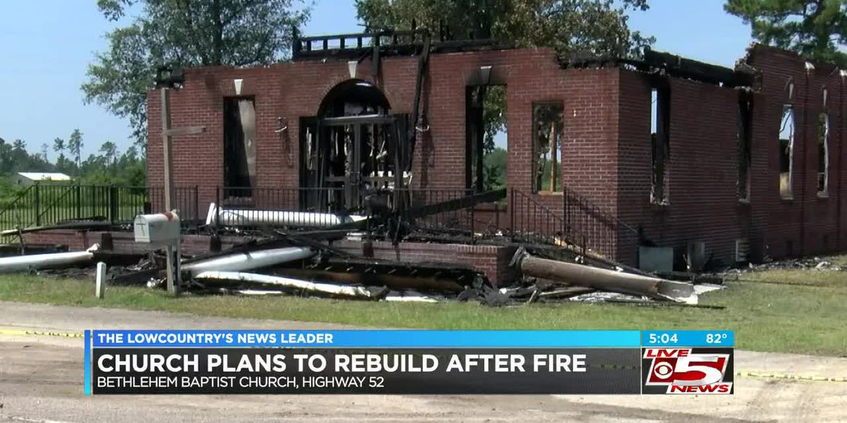 VIDEO: Congregation set to have service on Sunday outside church destroyed by fire