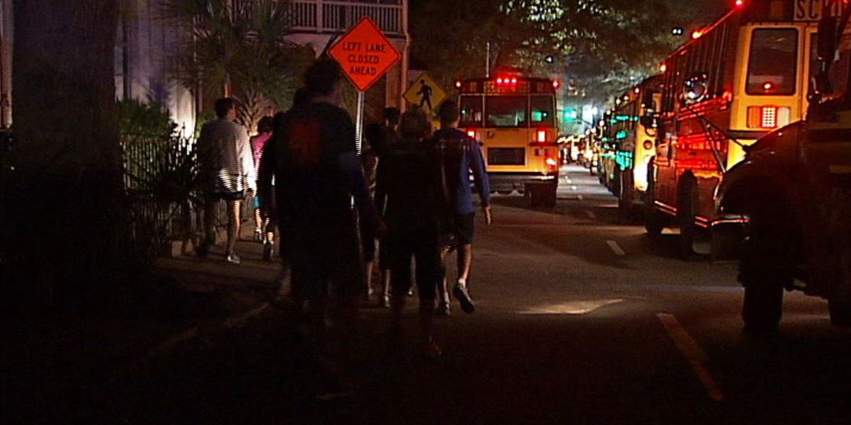 Cooper River Bridge Run participants can use shuttles to starting line
