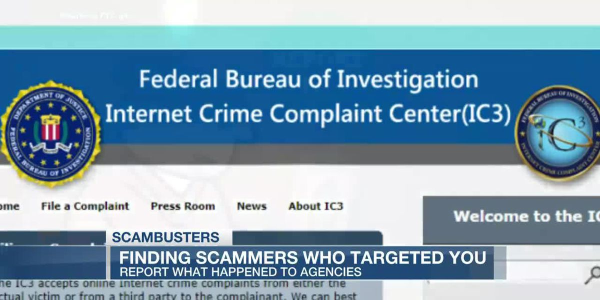 VIDEO: Live 5 Scambusters: How and where to report scams
