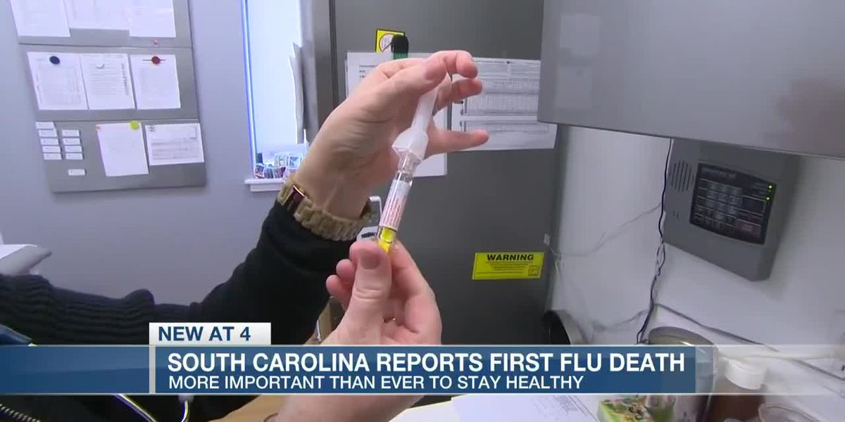 VIDEO: S.C. confirms 2020 season's first flu-related death in state