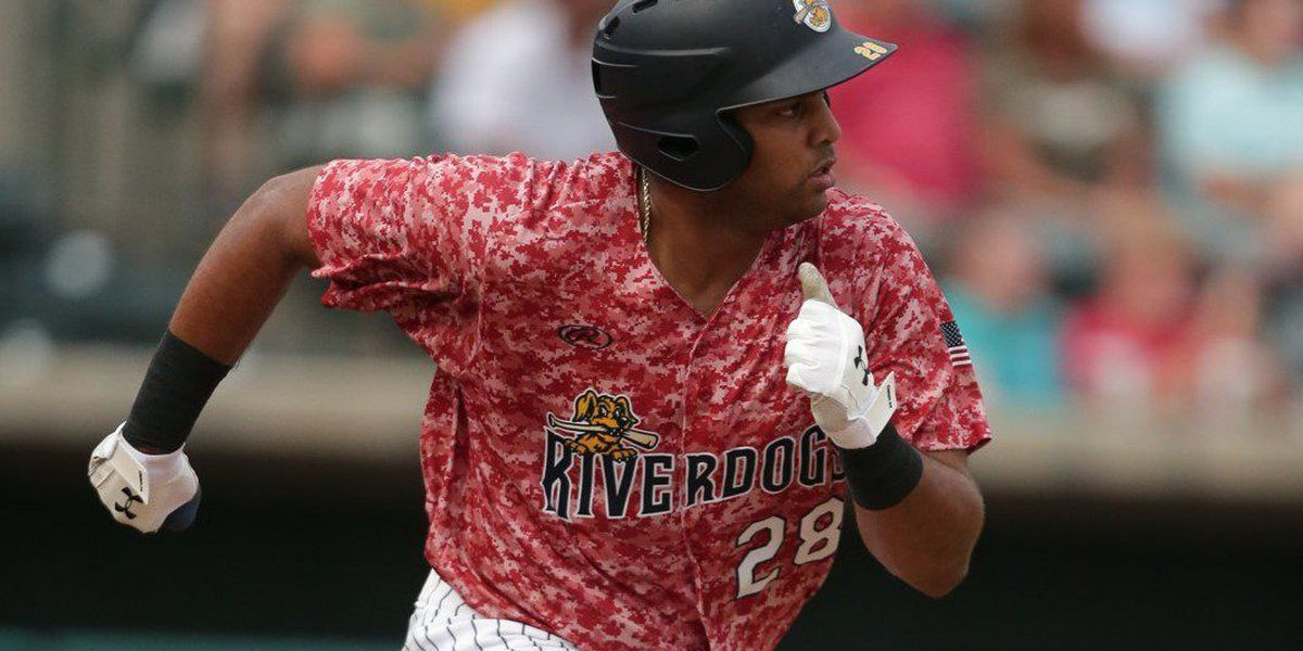 Garcia Drives in Three as RiverDogs Take Opener Against Suns