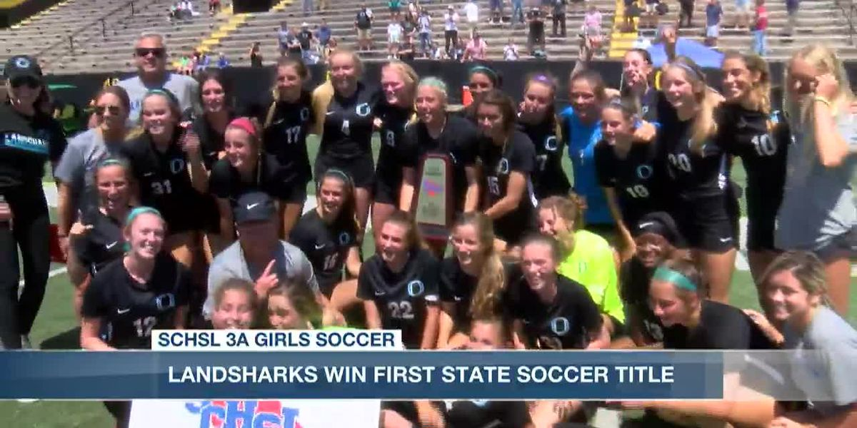 VIDEO: Mosquera, Stief propel Landsharks to first state title.