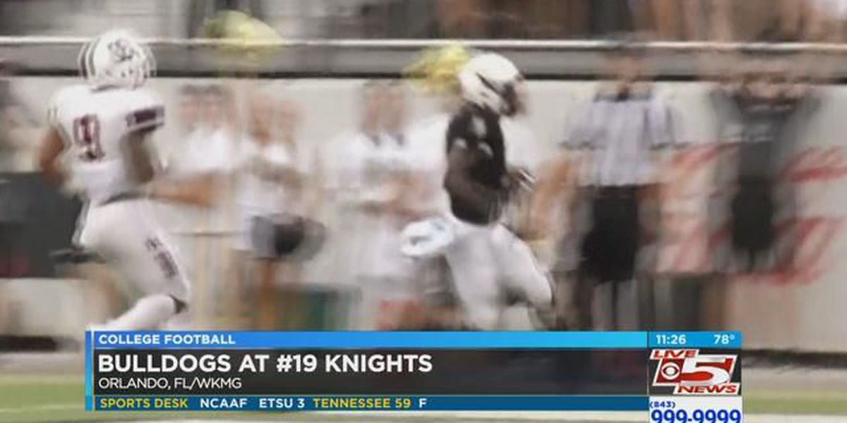 VIDEO: Bulldogs no match for No. 19 Knights