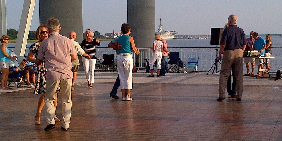 Friday night boogie, Shaggin' on the Cooper return to Memorial Waterfront Park