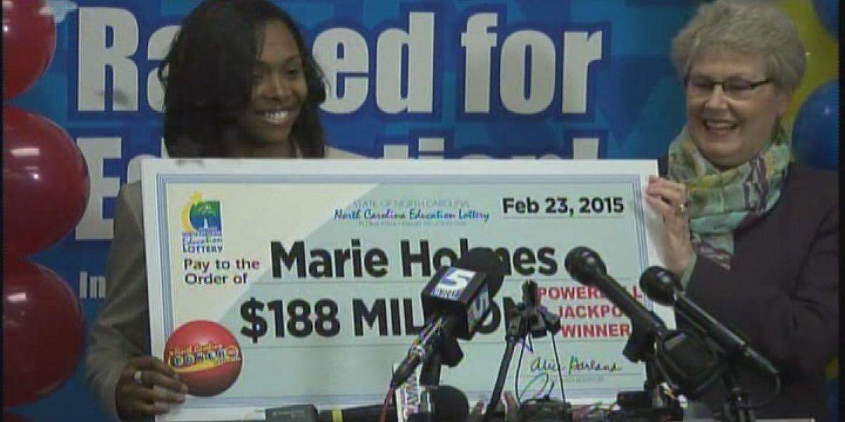 $188 million Powerball jackpot winner sued by former fiancé