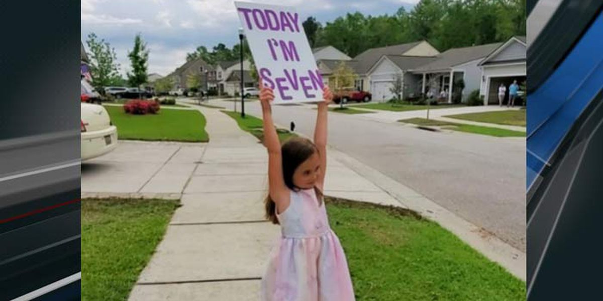 West Ashley girl celebrates birthday without party, but with big smiles