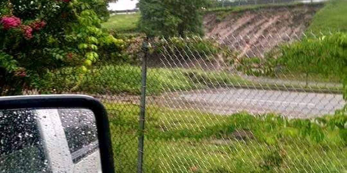 Police responding to report of a mudslide in North Charleston