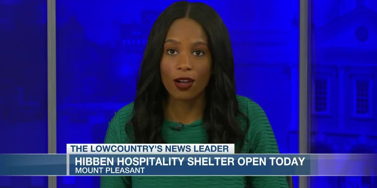 VIDEO: Hospitality shelter opens for Saturday afternoon
