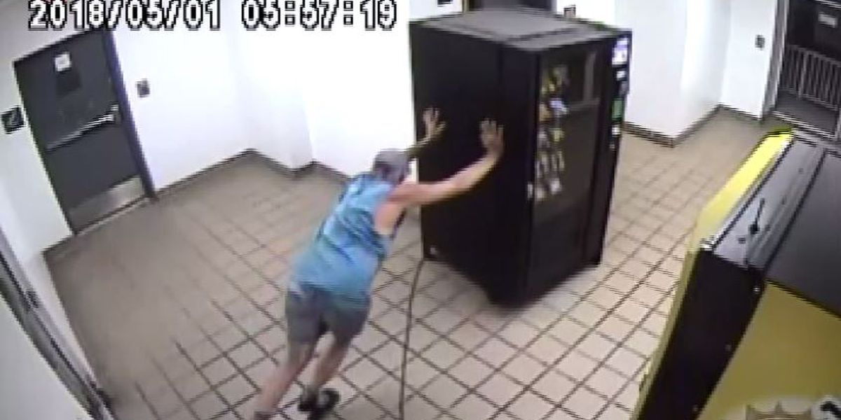 Florida man tried to steal vending machine from apartment complex, police say