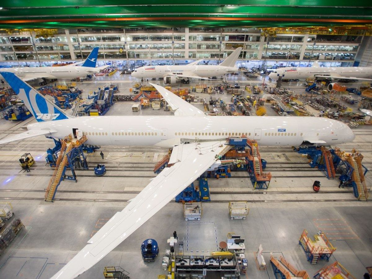 Boeing 787 assembly consolidation in South Carolina to begin in March