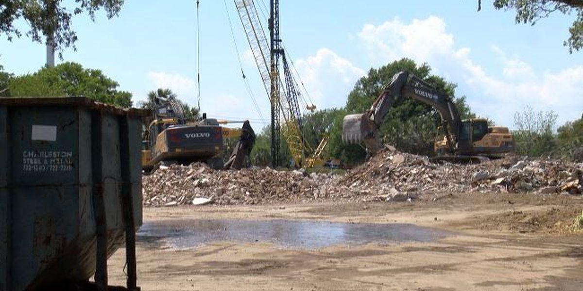 Sgt. Jasper building officially torn down