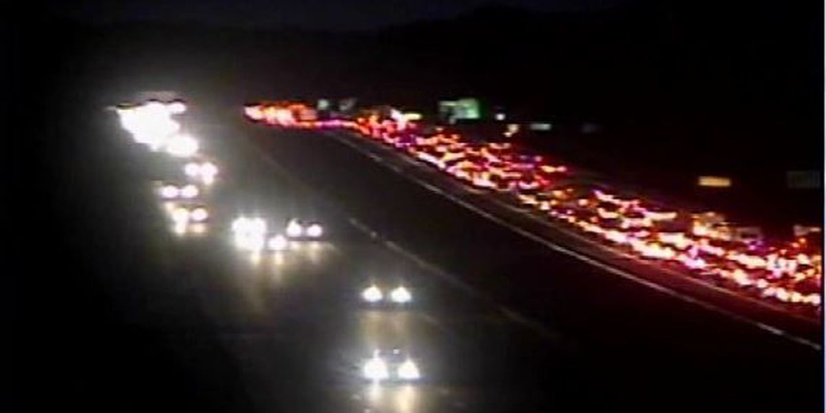 Multiple crashes cause backups on I-26 near College Park Road
