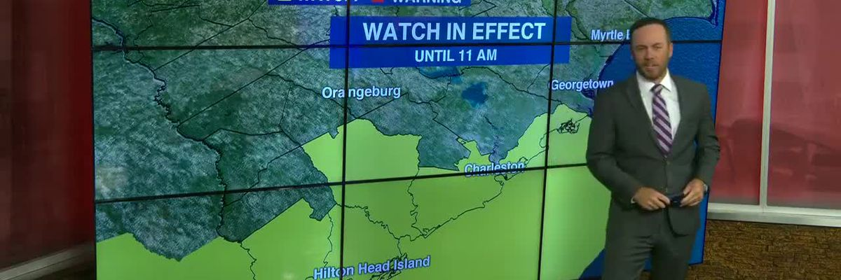 VIDEO: Tornado watch issued for portion of Lowcountry