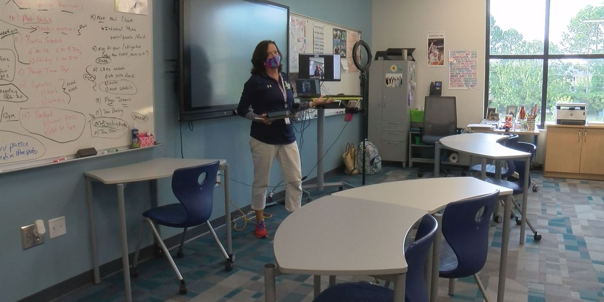 Lucy Beckham High School ready to open in Mt. Pleasant