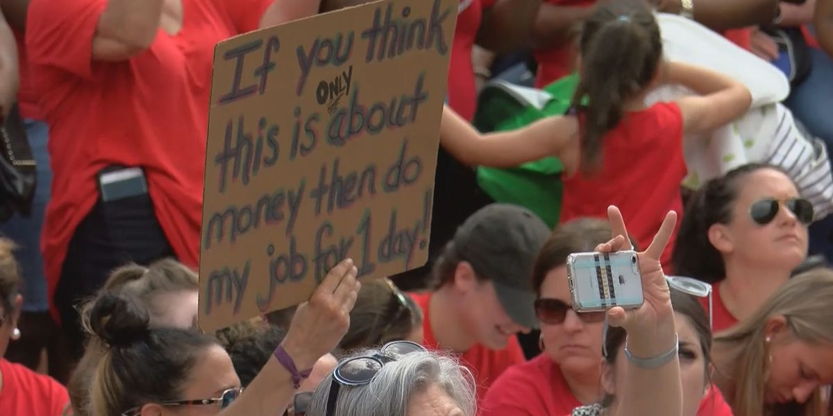 What's next after 'historic' teacher rally?