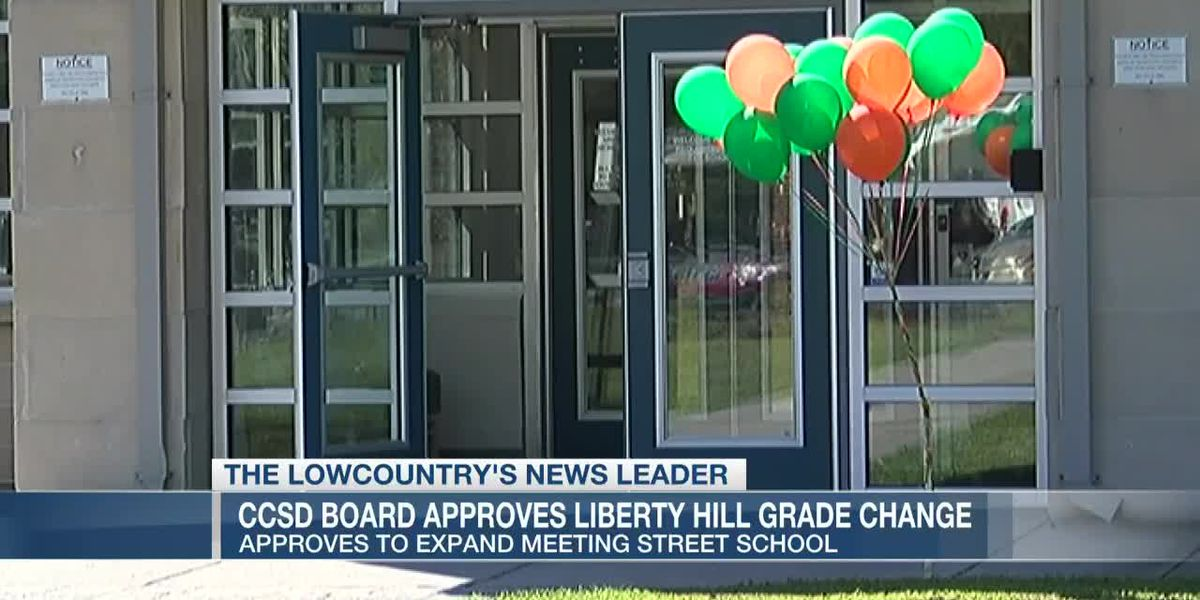 VIDEO: CCSD board approves expanding N. Charleston school, removing a grade from another