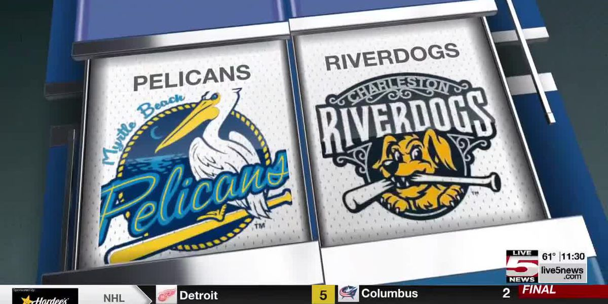 VIDEO: RiverDogs take 1st loss of the season on Friday to Myrtle Beach