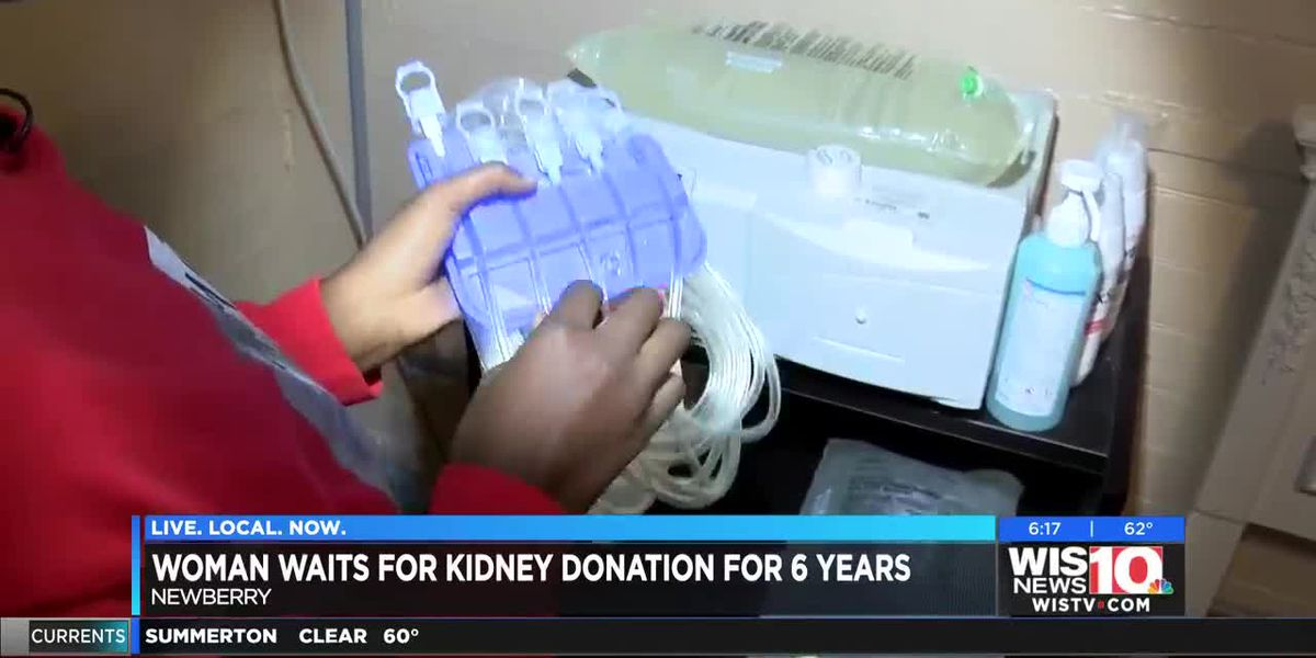 Newberry woman on kidney transplant list for six years continues to wait for a perfect match