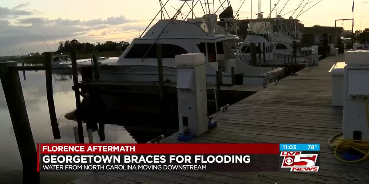 Georgetown community bracing for rising flood waters