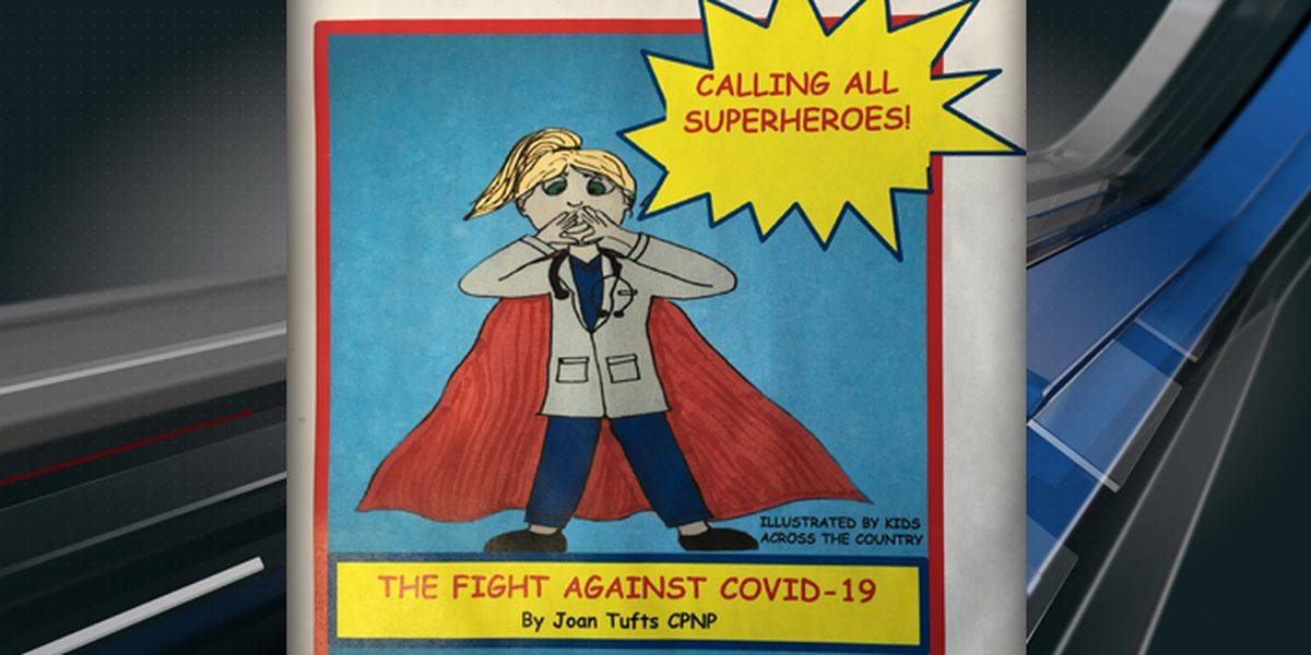 Parent Survival Guide: Lowcountry Nurse writes book to teach kids how to fight COVID-19