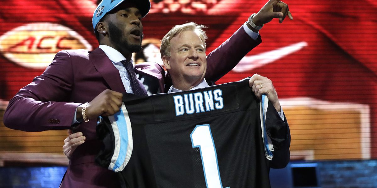 Panthers select Florida State DE Burns with 1st round pick