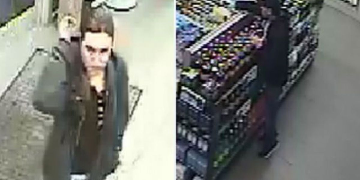 Deputies search for cigarette shoplifter caught on camera