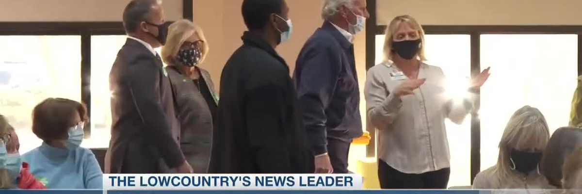 VIDEO: McMaster visiting COVID-19 vaccination center in North Charleston on Tuesday