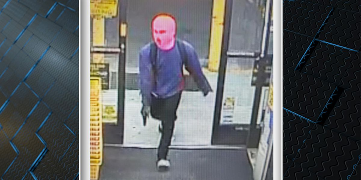 Police release picture of suspect wanted for armed robbery, assault at Kingstree Dollar General