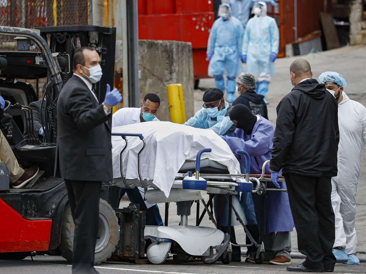 'A battlefield behind your home': Deaths mount in New York