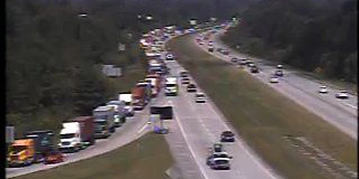 Port traffic causes backup at I-526's Long Point Road exit