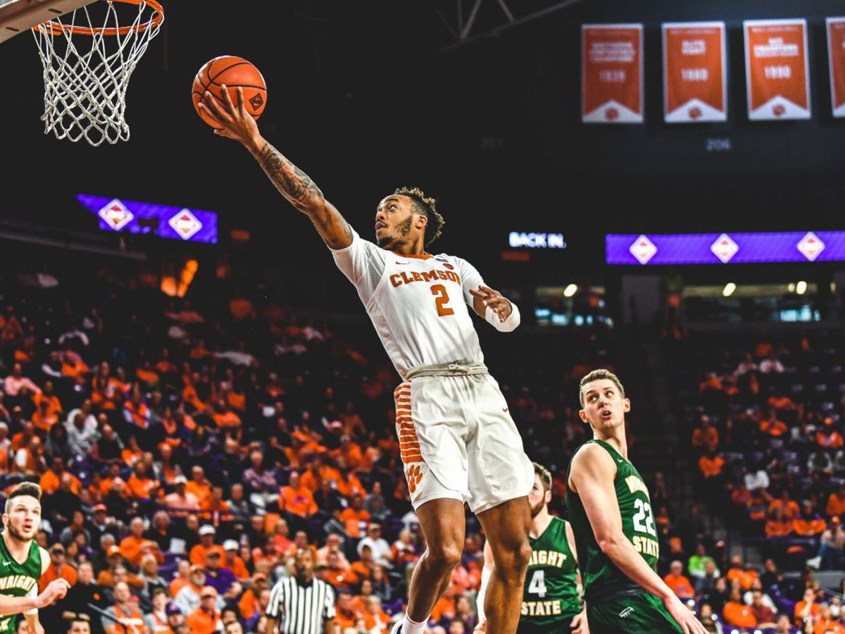 Clemson Advances to NIT Second Round with 75-69 Win Over Wright State