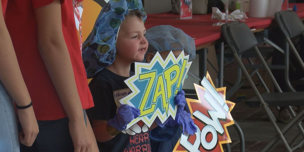 'Little Heart Hero Day' held at MUSC